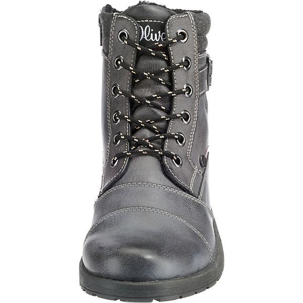 s.Oliver, Winterstiefel, grau Qualität  Gute Qualität grau beliebte Schuhe 82dc80