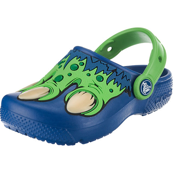 finest selection 63973 a843f crocs, Clogs Fun Lab Creature für Jungen, blau