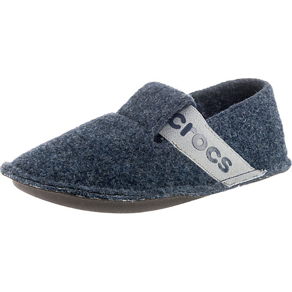 finest selection 45713 6c7c5 crocs, Kinder Hausschuhe Classic Slipper, blau/grau