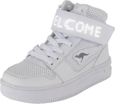 Future Space LED Sneaker weiß