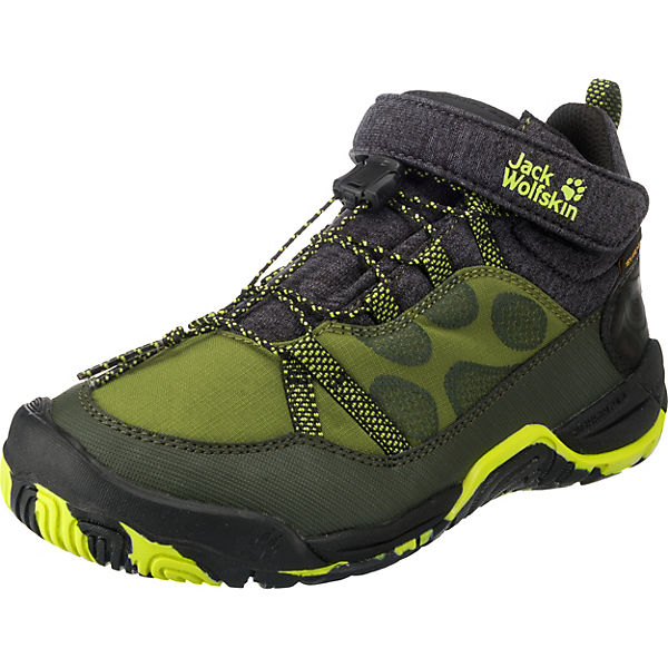 cheaper 6ef02 11e0b Jack Wolfskin, Kinder Outdoorschuhe JUNGLE GYM TEXAPORE, grün