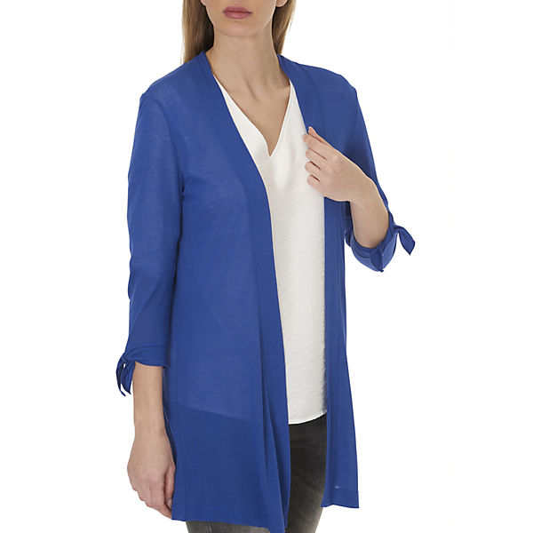 Sweatjacke Betty blau Betty Barclay Barclay 4qwY7X0xv
