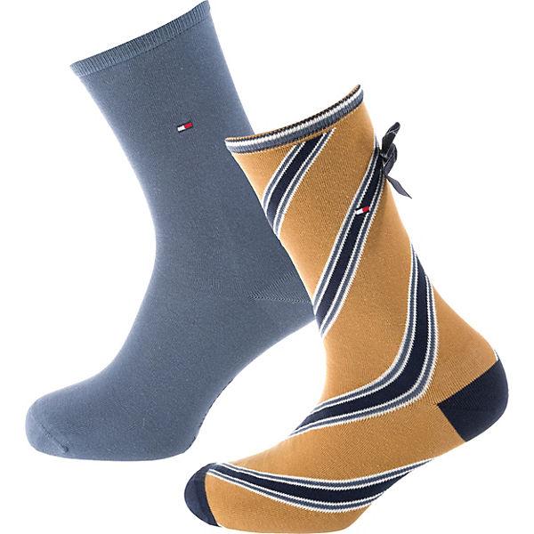 Paar Socken kombi TOMMY gelb HILFIGER 2 tqpnxw6xER
