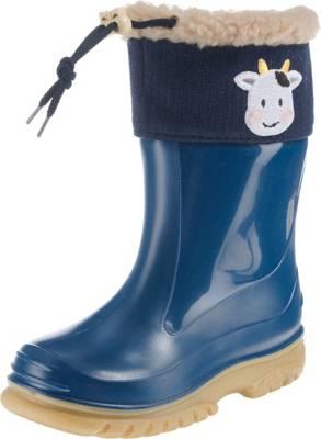 ROMIKA, Baby Gummistiefel COW für Jungen, gefüttert, blau