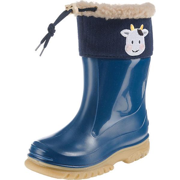 online retailer 121ff 1c15d ROMIKA, Baby Gummistiefel COW für Jungen, gefüttert, blau
