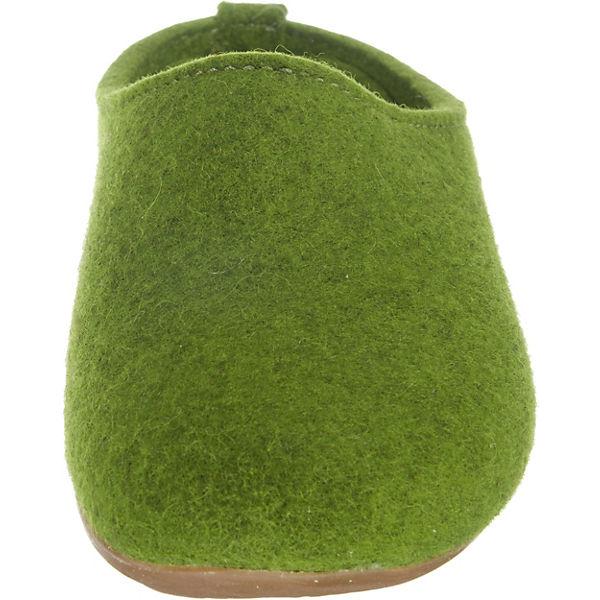 HAFLINGER, Fundus Everest Fundus HAFLINGER, Pantoffeln, grün   165b49