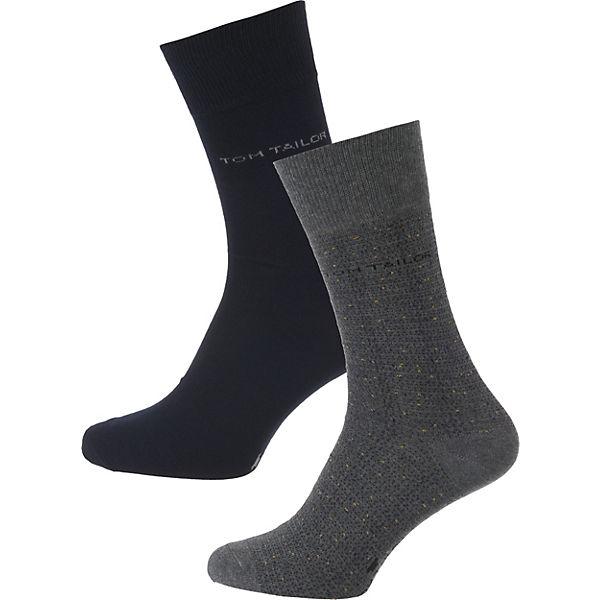 Socken grau TOM kombi TAILOR Paar 2 xY1wWqfn7