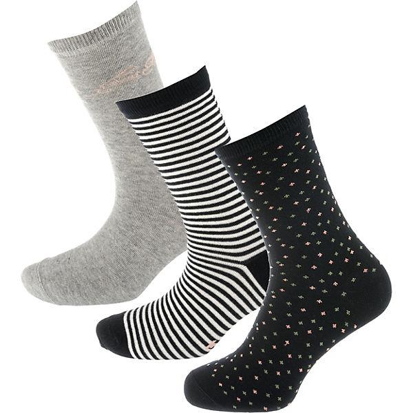 Socken 3 Paar schwarz TAILOR kombi TOM tBwqO5Y