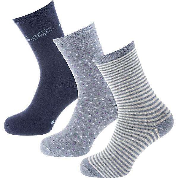 kombi blau TOM 3 Paar TAILOR Socken 8nqwaIYXw