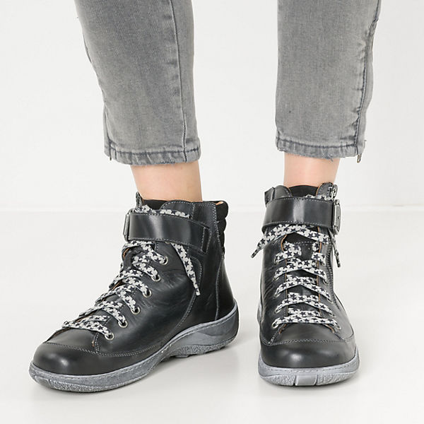 Double Schnürstiefeletten You You Double schwarz You Double schwarz Schnürstiefeletten qYdtF5