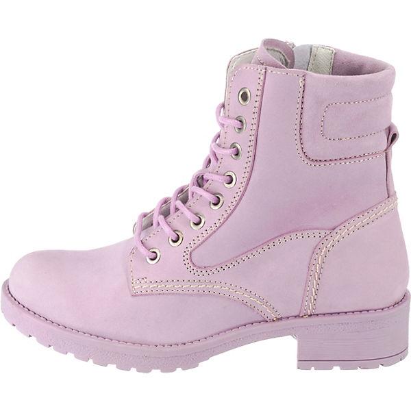 JOLANA & FENENA Biker Boots beliebte pink  Gute Qualität beliebte Boots Schuhe 83918d