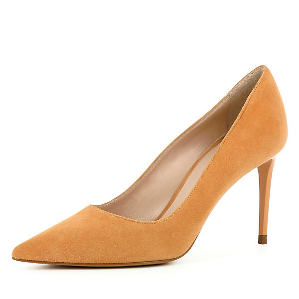 Evita Shoes,  JESSICA Klassische Pumps, orange  Shoes,  4f9e5a