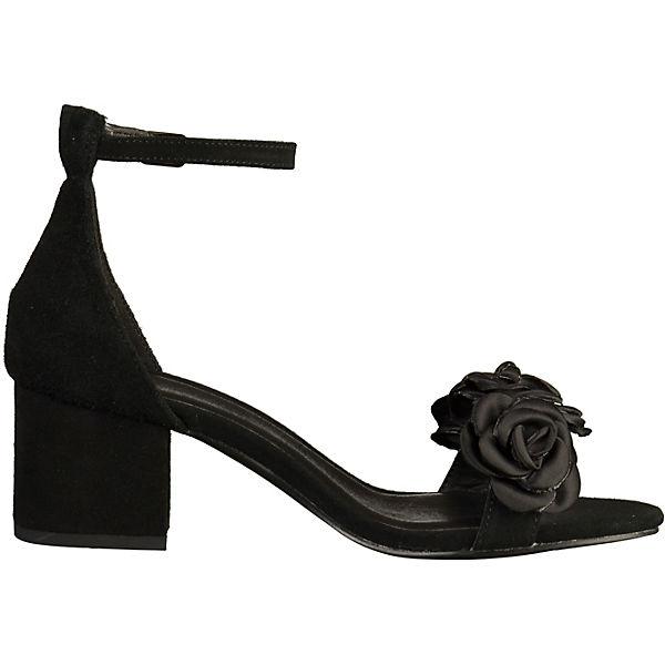SPM, Klassische Sandaletten, schwarz     a6084e