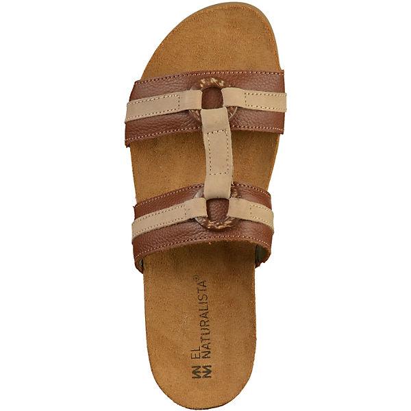 EL Gute NATURALISTA, Pantoletten, braun  Gute EL Qualität beliebte Schuhe aad9f9