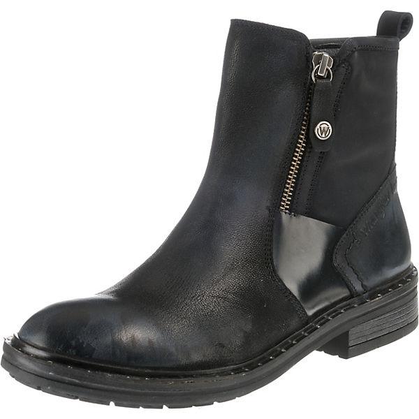 low priced a0542 579cb Wrangler, Gstaad Zip Klassische Stiefeletten, schwarz