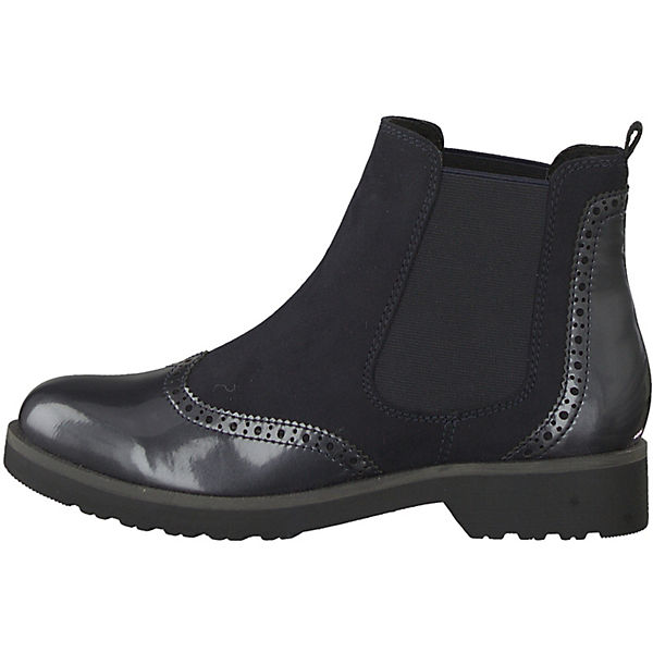 MARCO TOZZI, Boots, Feel Chelsea Boots, TOZZI, dunkelblau   7ba467