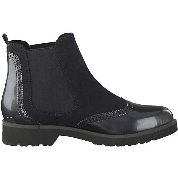 MARCO Boots Chelsea Feel dunkelblau TOZZI APAqwRr