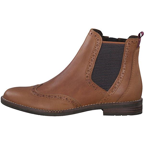 MARCO  TOZZI, Feel Chelsea Stiefel, cognac  MARCO Gute Qualität beliebte Schuhe aabd18