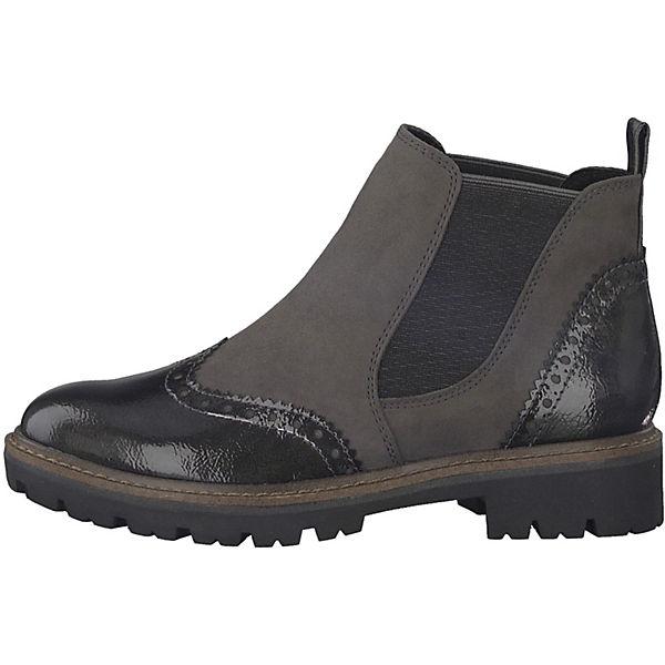 MARCO TOZZI, Feel Chelsea  Boots, dunkelgrau  Chelsea  c2edc2