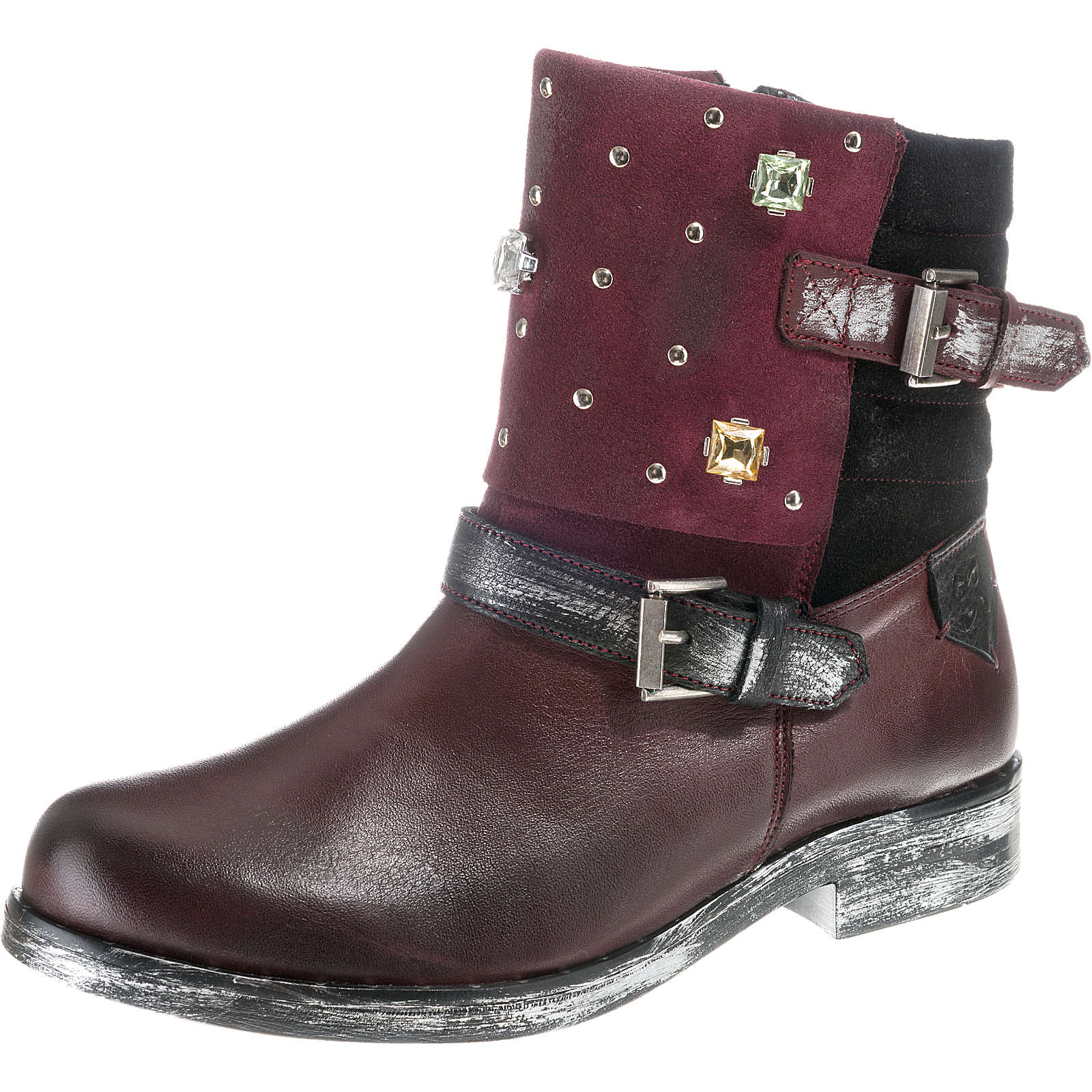 Maciejka Biker Boots bordeaux Damen Gr. 41