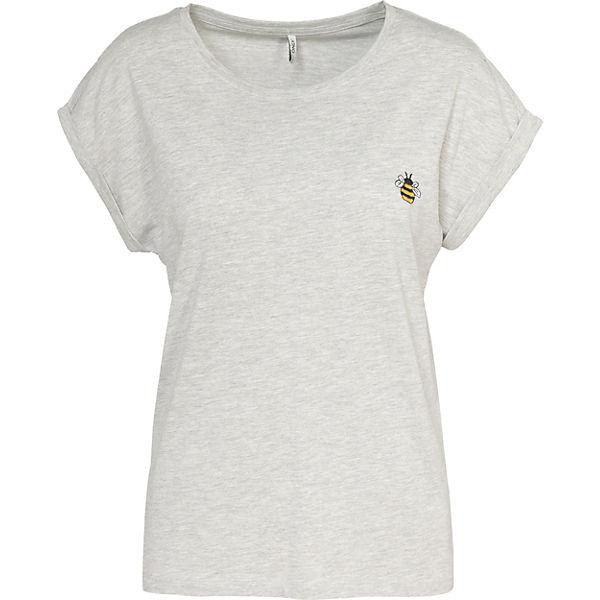 T T T ONLY Shirt Shirt ONLY Shirt ONLY hellgrau hellgrau ONLY hellgrau T vqZ65xZ