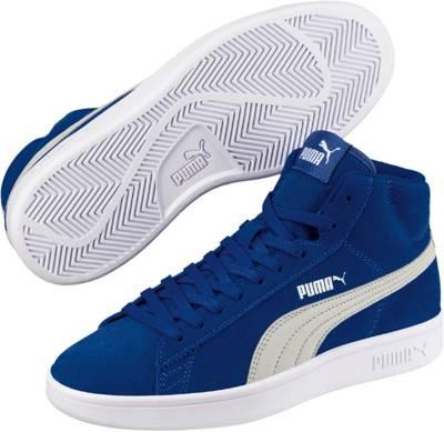 PUMA, Sneakers High Puma Smash v2 Mid Jrfür Jungen, blau