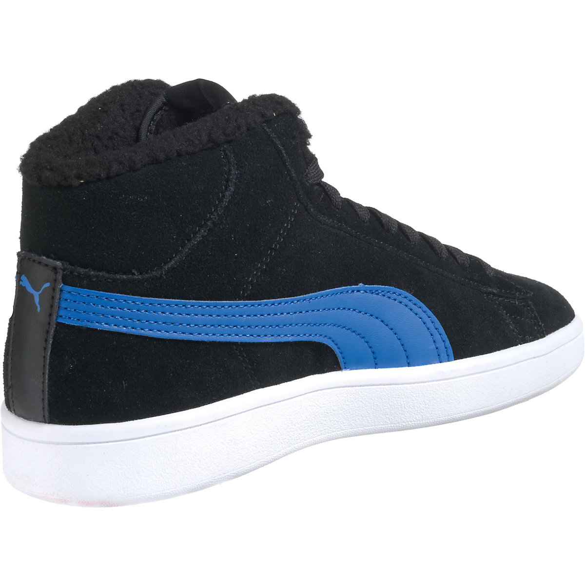 PUMA, Kinder Sneakers High Puma Smash v2 Mid Fur Jr für ...