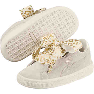 Sneakers Low Suede Heart AthLuxe PS für Mädchen