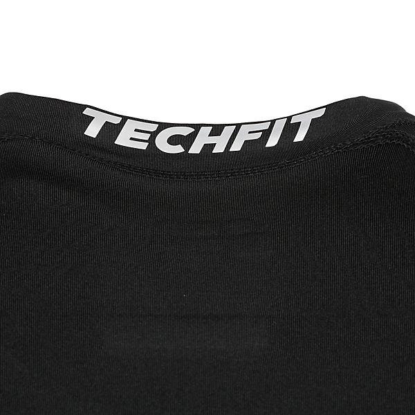 adidas TechFit Base Trainingsshirt Performance Herren schwarz av4qFpawP