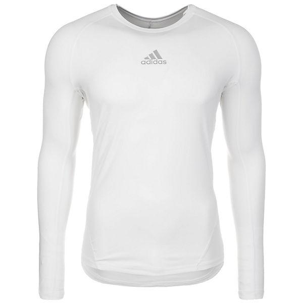 Performance Herren Adidas Trainingsshirt Alphaskin Sport Weiß N8n0wmv