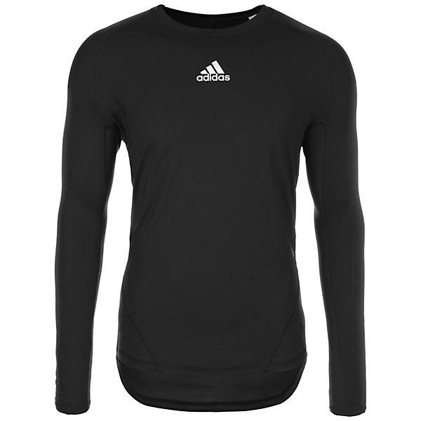 adidas Performance AlphaSkin Sport Trainingsshirt Herren schwarz