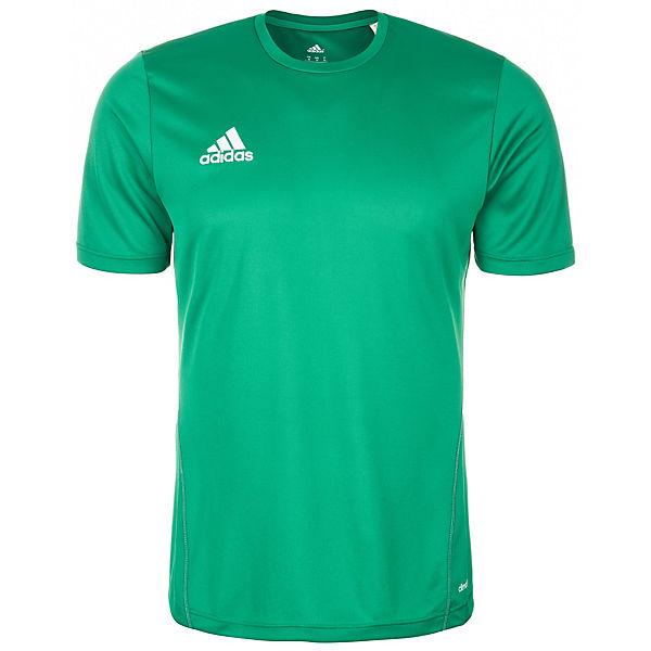 adidas Performance Core 15 Trainingsshirt Herren grün/weiß