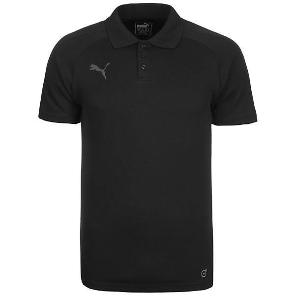 Casuals Ascension PUMA schwarz Poloshirt Herren qfx5wwBO