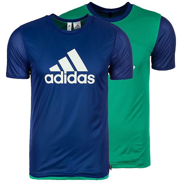 blau Trainingsshirt grün Performance Tango Herren Reversible adidas ZFnCA1qn