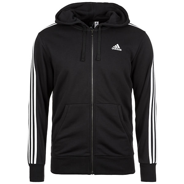 Essentials 3-Streifen Trainingskapuzenjacke Herren