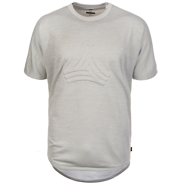 Terry hellgrau Herren Trainingsshirt adidas Tango Performance qxwX14FEE