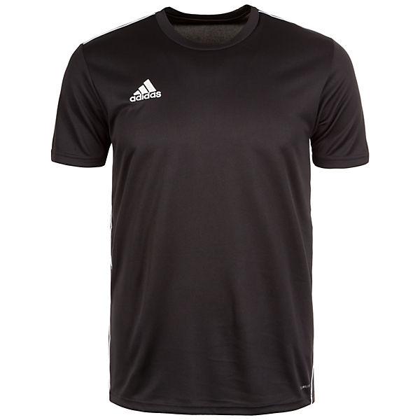 schwarz Trainingsshirt adidas Performance weiß Herren Core 18 4RUq76p