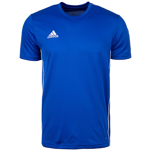 weiß Core Performance 18 blau Herren Trainingsshirt adidas gYxPwzw