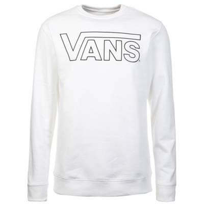 VANS, Classic Crew Fleece Sweatshirt Herren, weiß   mirapodo