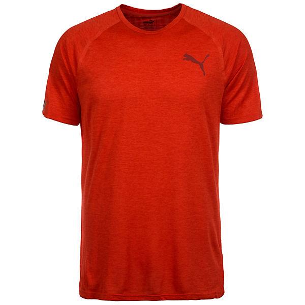 rot Herren Trainingsshirt Bonded PUMA Tech xXq4gxw7