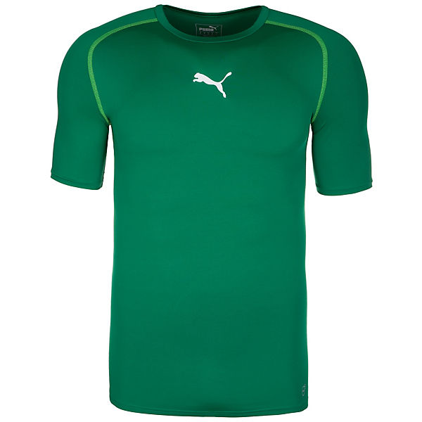 weiß grün Herren Trainingsshirt TB PUMA wCqpx4IC