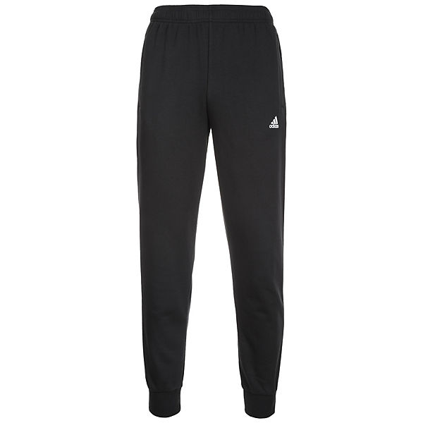 Trainingshose Herren schwarz Tapered Performance weiß Essentials adidas fwqRtx