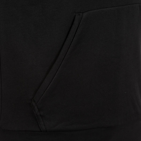 Herren Essentials schwarz adidas French Linear Performance weiß Terry Kapuzenullover v575Yw
