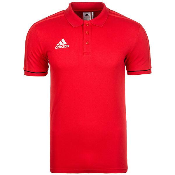 adidas Herren rot Poloshirt 17 Performance Tiro YwSqwp8H