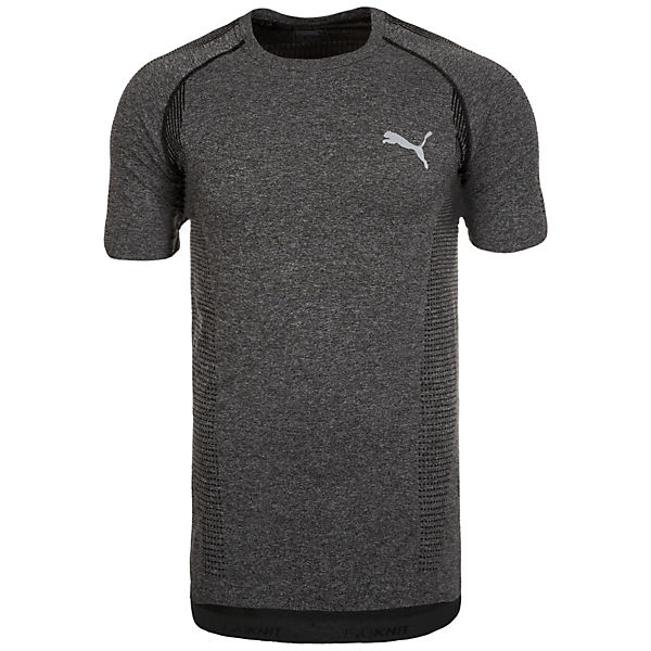 evoKNIT Basic Trainingsshirt Herren