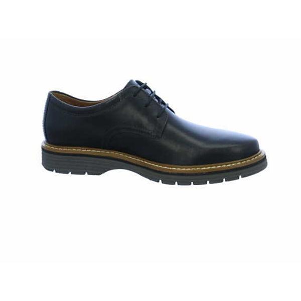 Clarks Business-Schnürschuhe schwarz  Gute Qualität beliebte Schuhe