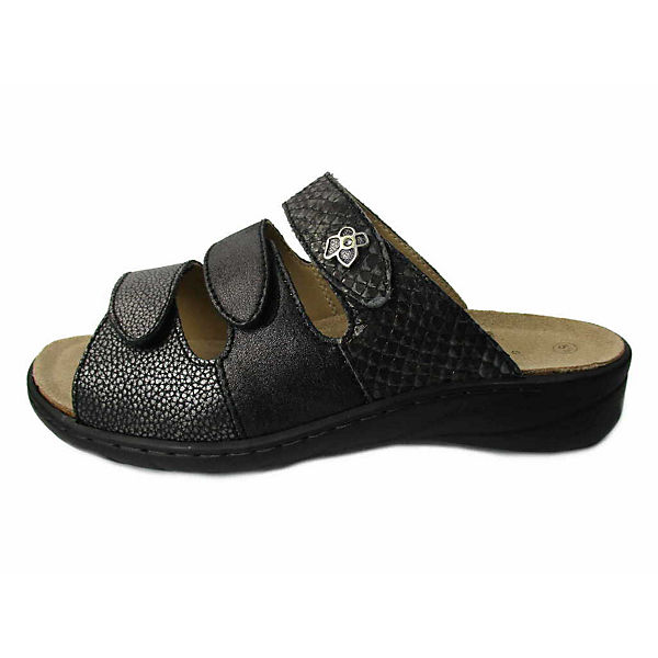 Solidus, Komfort-Pantoletten, grau  Gute Qualität beliebte Schuhe
