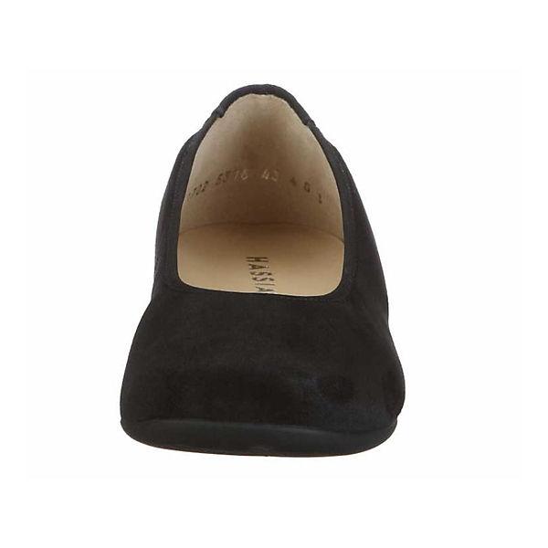 Hassia, Klassische Ballerinas, schwarz  Gute Qualität beliebte Schuhe