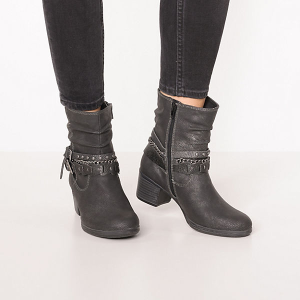 Dockers by Gerli, Winterstiefeletten, schwarz Schuhe  Gute Qualität beliebte Schuhe schwarz afc712