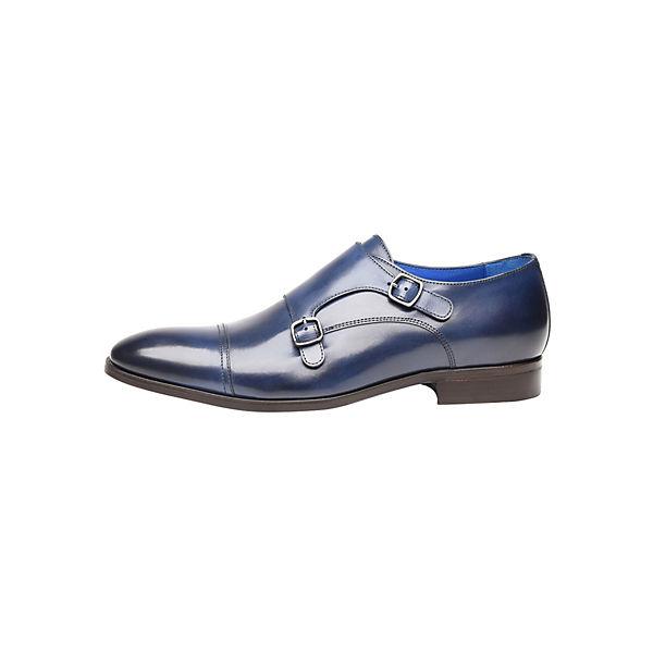 SHOEPASSION, No.  5608 BL Business-Slipper, blau  No.  1d95cb